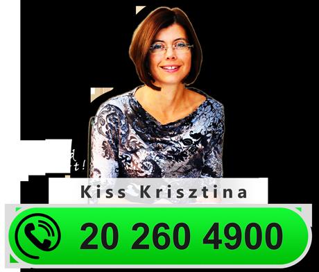 Kiss Krisztina 06 20 260 4900